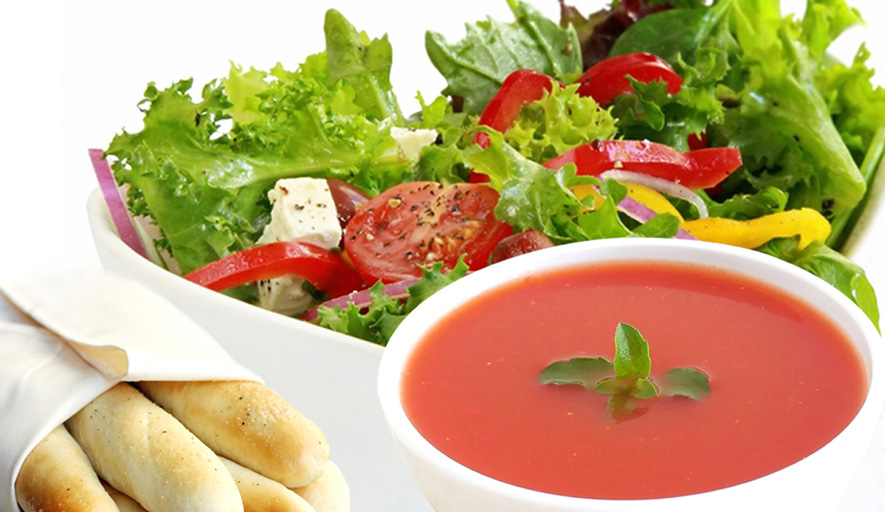 Billings' first and only  Endless Soup and  Salad Bar with  seven soups made  from scratch daily!